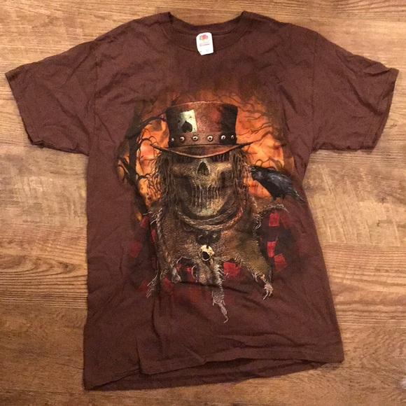 9b683d45599af Fruit of the loom cotton scarecrow T-shirt